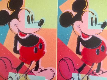 Myths: Mickey Mouse Double Mickey Mouse 1993 Limited Edition Print - Andy Warhol