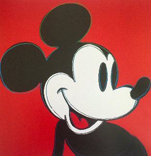 Myths: Mickey Mouse 1995 Limited Edition Print - Andy Warhol