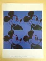Myths: Mickey Mouse Poster 1995 Limited Edition Print by Andy Warhol - 1