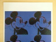 Myths: Mickey Mouse Poster 1995 Limited Edition Print by Andy Warhol - 2