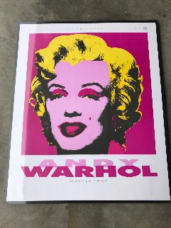 Marilyn: Nouvelles Images Andy Warhol Collection 1989 Limited Edition Print by Andy Warhol