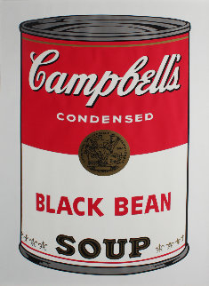 Campbell's Soup: Black Bean  FS II.44 Limited Edition Print by Andy Warhol