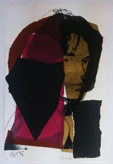 Mick Jagger Fs Ii.139 Limited Edition Print by Andy Warhol