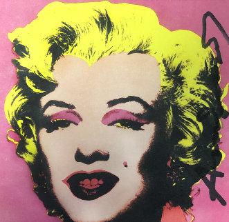 Marilyn Monroe - Castelli Graphics Invitation 1981 Limited Edition Print - Andy Warhol