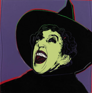 Myths: Witch (FS II.261) AP 1981 Limited Edition Print by Andy Warhol