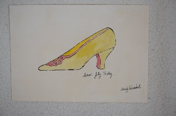 Shoe Fly Baby Works on Paper (not prints) - Andy Warhol