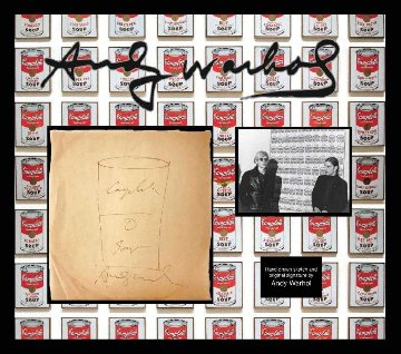 Campbells Soup Can Drawing  Drawing - Andy Warhol