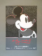 Mickey 1982 Pop Art Poster Limited Edition Print by Andy Warhol - 1