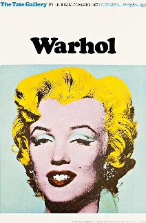 Marilyn Poster  (Tate Gallery London) 1971 Limited Edition Print by Andy Warhol