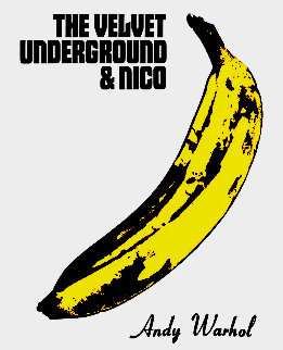 Velvet Underground & Nico Maxi-Size Poster 1967 Limited Edition Print by Andy Warhol