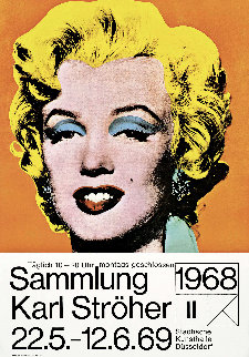Marilyn (Karl Ströher) 1968 Limited Edition Print by Andy Warhol