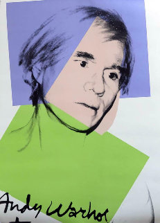Self Portrait 1978  Limited Edition Print by Andy Warhol