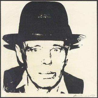 Joseph Beuys, Self Portrait 1980 Limited Edition Print - Andy Warhol