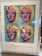 Four Marilyns Poster 1985 Limited Edition Print by Andy Warhol - 1
