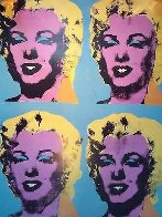 Four Marilyns Poster 1985 Limited Edition Print by Andy Warhol - 0