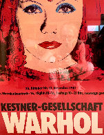 Kestner-Gesellschaft Poster 1981 Limited Edition Print by Andy Warhol - 0