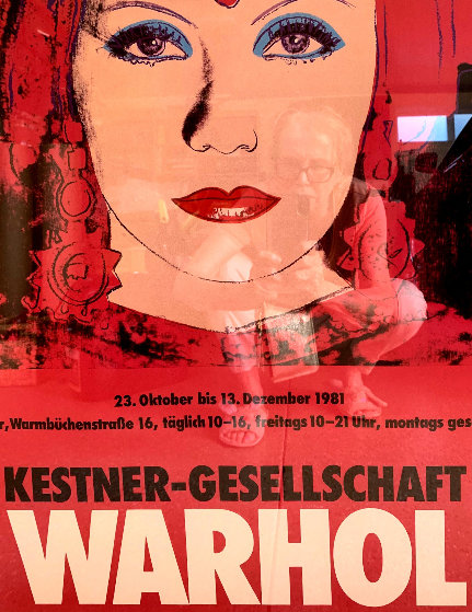 Kestner-Gesellschaft Poster 1981 Limited Edition Print by Andy Warhol