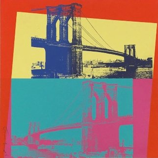 Brooklyn Bridge (FS II.290) 1983 Limited Edition Print by Andy Warhol