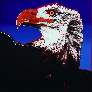 Endangered Species: Bald Eagle (F. & S. II.296) 1983 Limited Edition Print by Andy Warhol