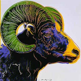 Endangered Species: Bighorn Ram (F. & S. II.302) 1983 Limited Edition Print by Andy Warhol