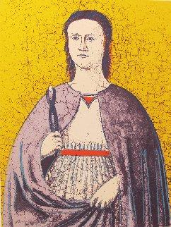 Saint Apollonia Fs Ii.333 1984 Limited Edition Print - Andy Warhol