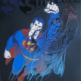 Myths: Superman Limited Edition Print by Andy Warhol