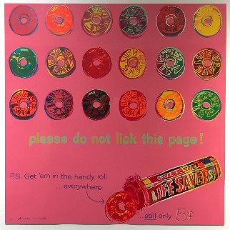 Ads: Life Savers Fs Ii.353 Limited Edition Print by Andy Warhol