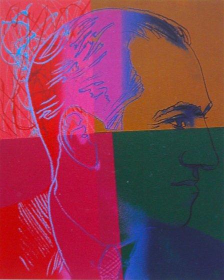 Jews: George Gershwin 1980 Limited Edition Print by Andy Warhol