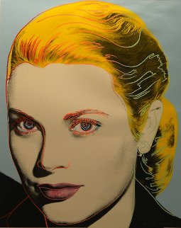 Grace Kelly 1984 Fs Ii.305 Limited Edition Print by Andy Warhol