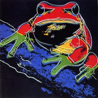 Endangered Species: Pine Barrens Tree Frog Fs Ii.294 Limited Edition Print by Andy Warhol