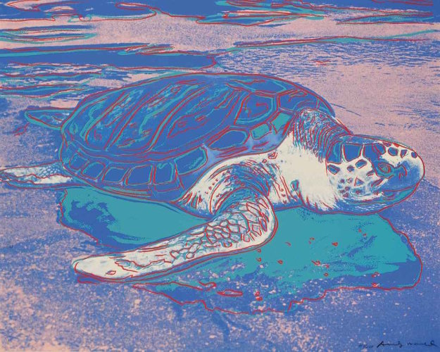 Endangered Species: Turtle (FS II.360A) 1985 Limited Edition Print by Andy Warhol