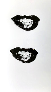 Lips 1975 32x20 Works on Paper (not prints) - Andy Warhol