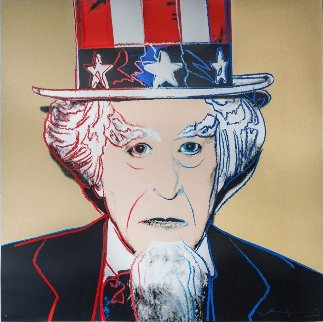 Uncle Sam: From Myths Fs Ii.259 1981 Limited Edition Print by Andy Warhol