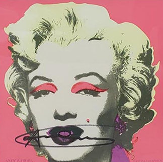 Marilyn (Announcement) 1981 HS Limited Edition Print by Andy Warhol
