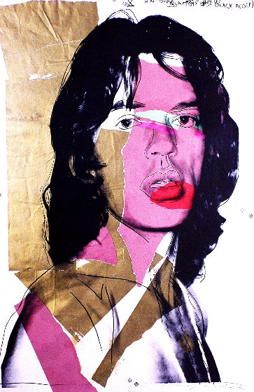 Mick Jagger Poster - Museum of Modern Art, Vienna 2010 Limited Edition Print by Andy Warhol