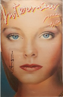Interview Magazine (Jodie Foster Cover) HS 1980 Limited Edition Print by Andy Warhol