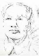 Mao Wallpaper 1974 Limited Edition Print by Andy Warhol - 0