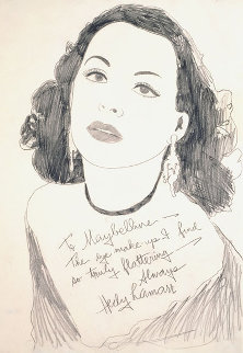 Hedy Lamarr 1970 Limited Edition Print by Andy Warhol