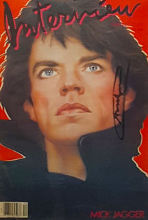 Andy Warhol Interview Magazine (Mick Jagger Cover) 1985 Other by Andy Warhol