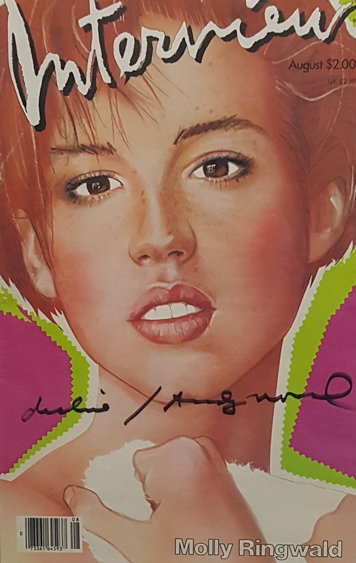Interview Magazine (Molly Ringwald Cover) 1985 Limited Edition Print by Andy Warhol