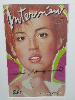 Interview Magazine (Molly Ringwald Cover) 1985 Limited Edition Print by Andy Warhol - 4