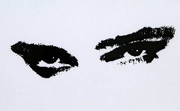 Eyes 1986 Limited Edition Print by Andy Warhol