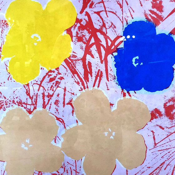 Flowers Poster 1967 HS Limited Edition Print by Andy Warhol