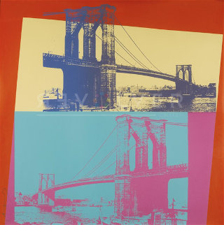 Brooklyn Bridge 1983 FS II.290 Limited Edition Print by Andy Warhol