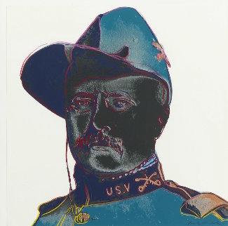 Cowboys And Indians: Teddy Roosevelt 1986 FS  II.386 Limited Edition Print by Andy Warhol