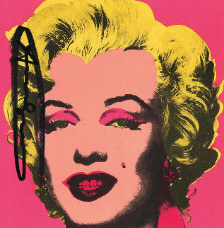 Marilyn (Announcement) 1981 Limited Edition Print by Andy Warhol