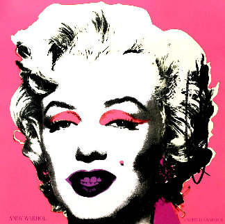 Marilyn (Castelli Mailer) Poster 1981 HS Limited Edition Print by Andy Warhol