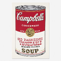 Campbell's Soup II, Old Fashioned Vegetable FS II 54 1969 Limited Edition Print by Andy Warhol - 0
