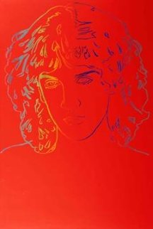 Billy Squiers Unique 1982 60x40 Limited Edition Print by Andy Warhol