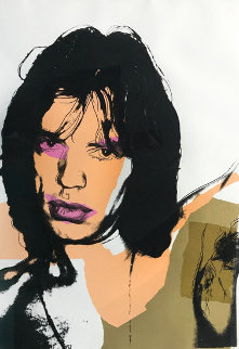 Mick Jagger 1975 FS 141 Limited Edition Print - Andy Warhol